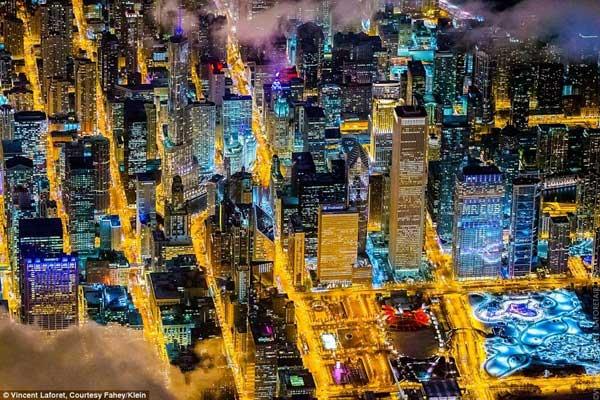 Mãn nhãn với bộ ảnh những thành phố không bao giờ ngủ