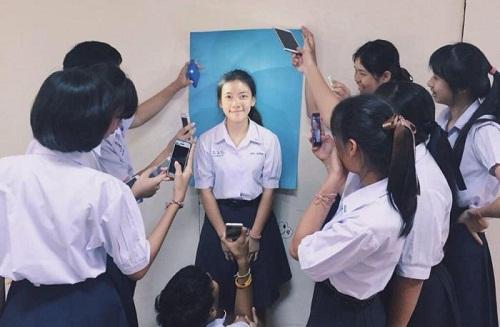 Hậu trường chụp ảnh thẻ 'bá đạo' của sinh viên