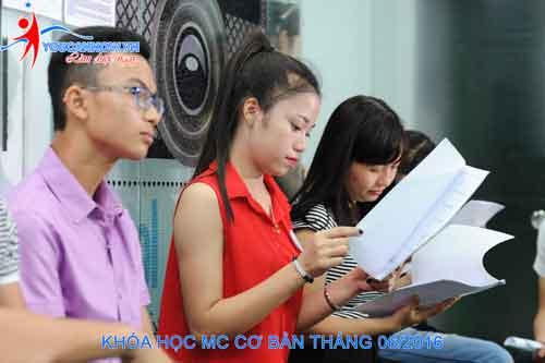 Cơ sở vật chất lớp học MC tại trung tâm đào tạo You Can Now