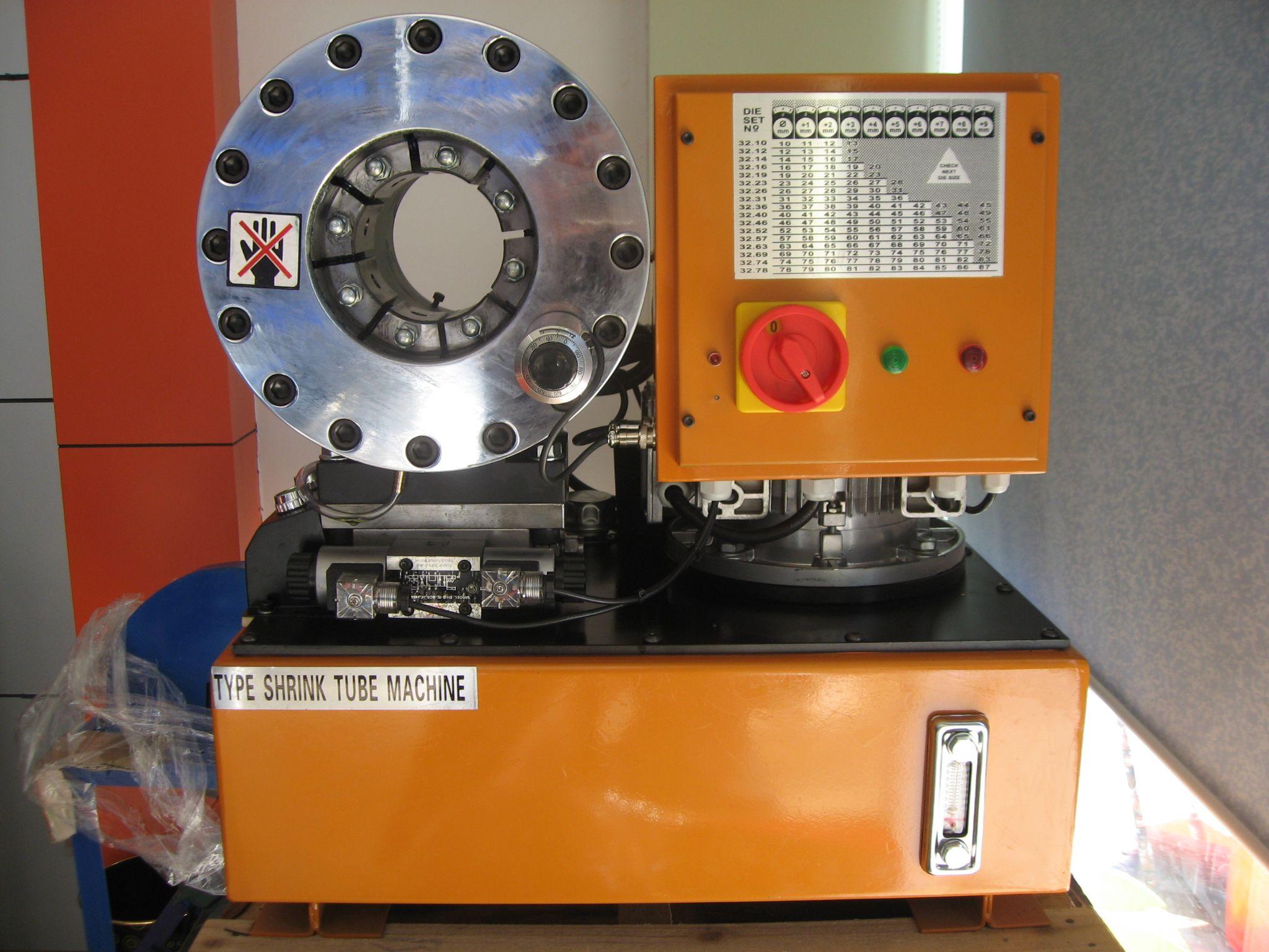 máy ép ống tuy ô thủy lực dx 68 mới