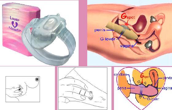 vòng rung glove, vòng rung kích thích điểm G