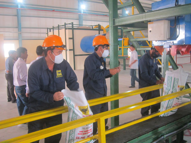 dây chuyền sản xuất phân bón hữu cơ