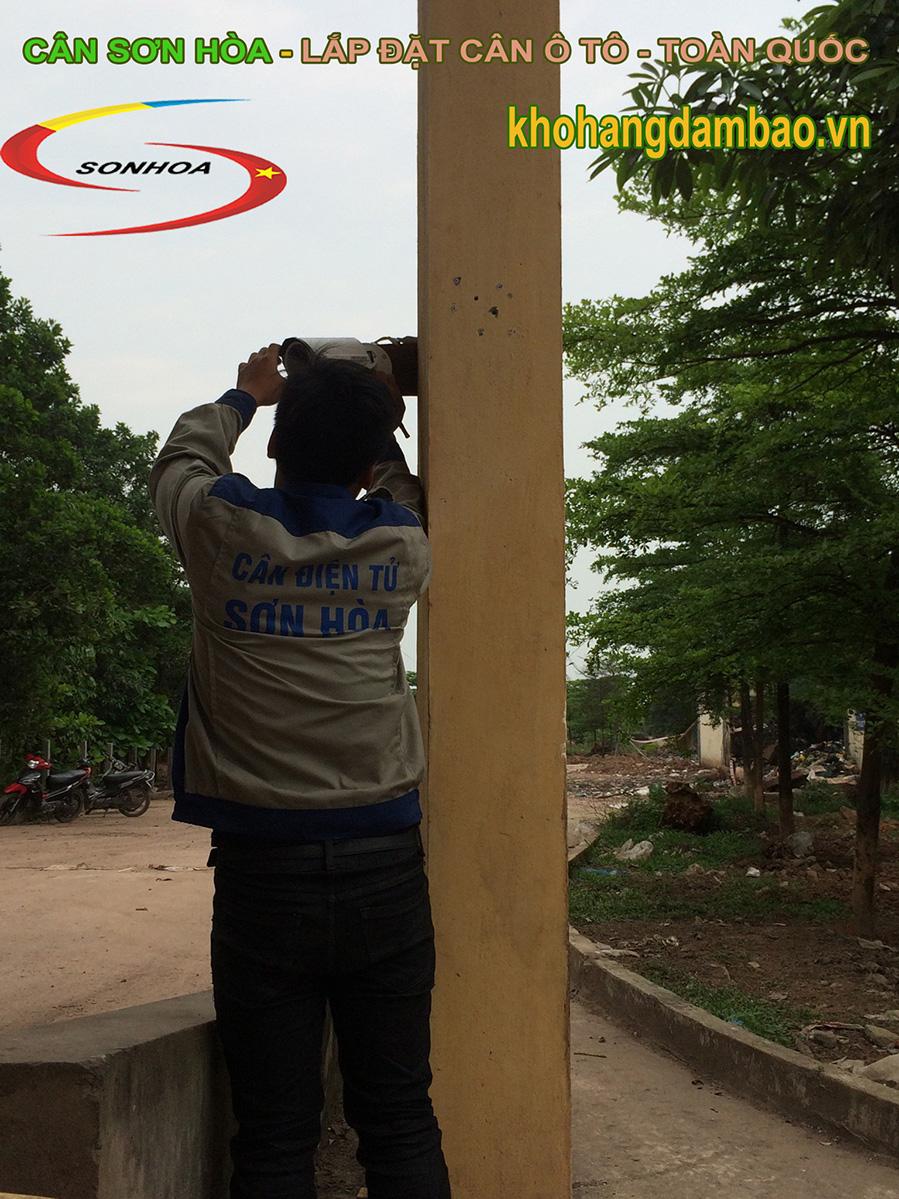 Quá trình lắp đặt camera nhận dạng biển số xe