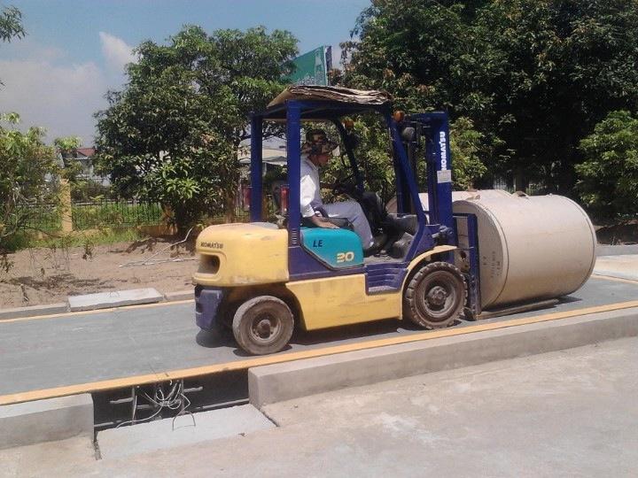 cân ô tô 120 tấn
