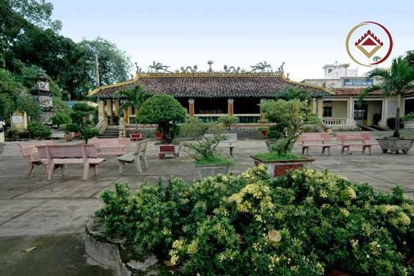 Toàn cảnh khuôn viên chùa Hội Khánh