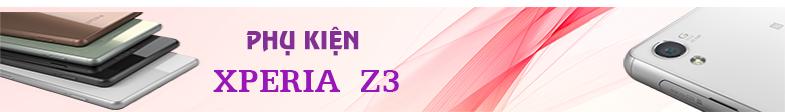 phụ kiện xperia z3 chính hãng