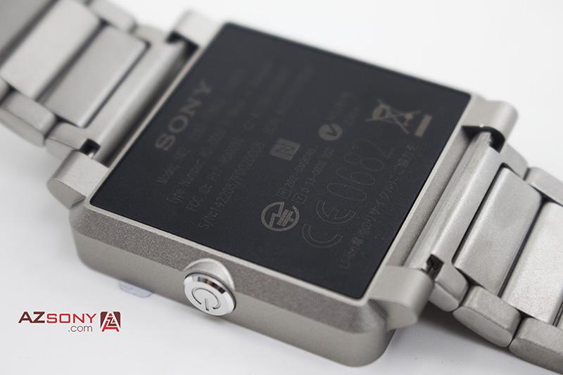 sony smartwatch 2 dây kim loại bạc