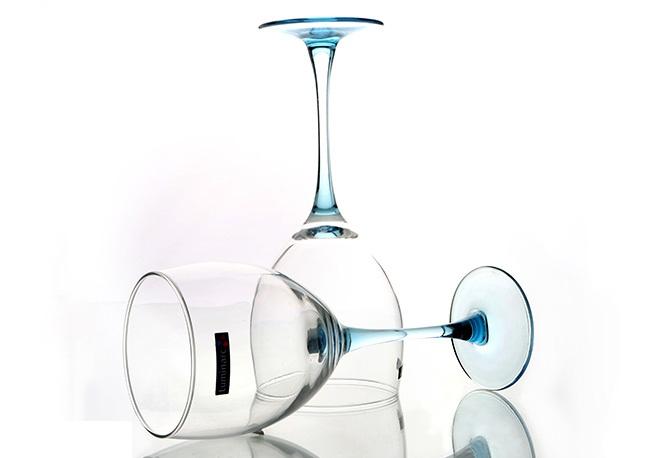 Ly rượu thuỷ tinh Luminarc Signature Ice Blue 350ml D3863