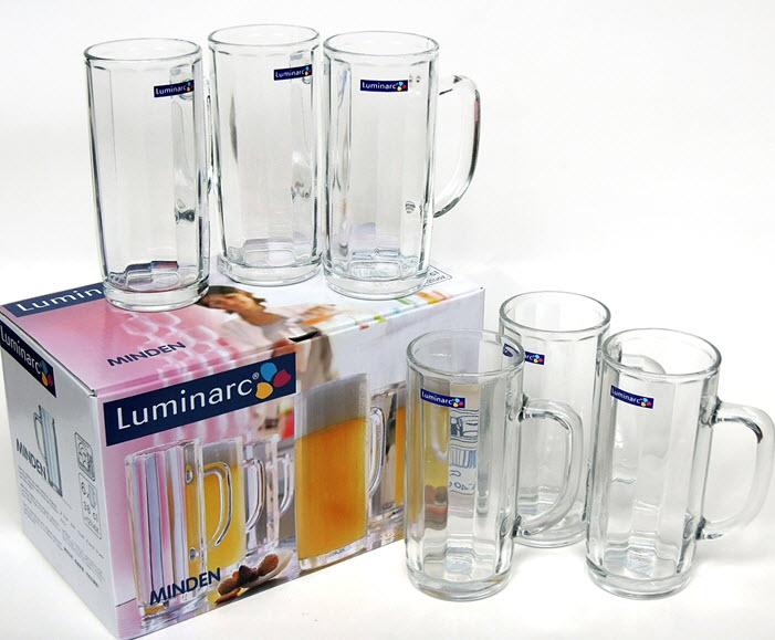 Ly bia thuỷ tinh Luminarc Bock Mindel 630ml G2618