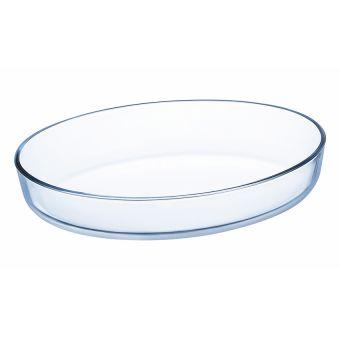 Khay nướng thuỷ tinh oval 26*20 J1337