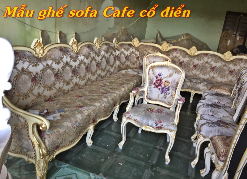 ghe cafe co dien