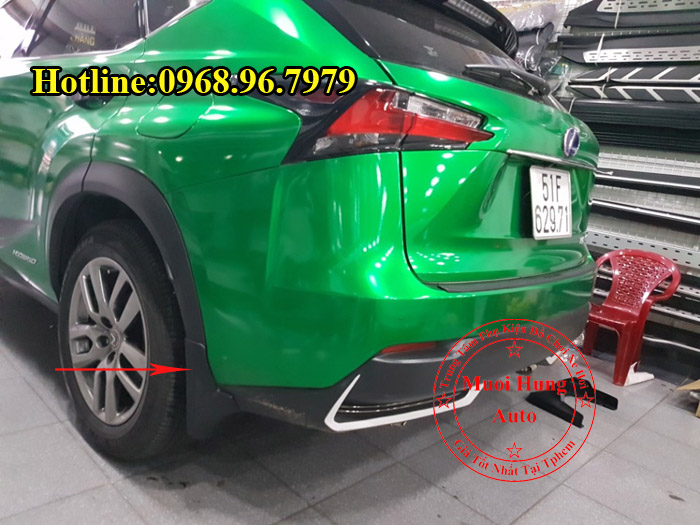 Chắn Bùn Cho Xe Lexus NX300T Chính Hãng