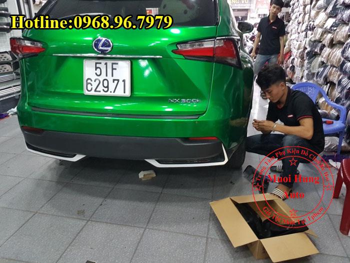 Chắn Bùn Cho Xe Lexus NX300T Chính Hãng 02