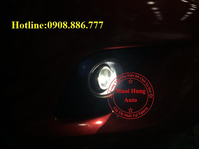 Độ Đèn Bi Cản Toyota Hilux Chuyên Nghiệp