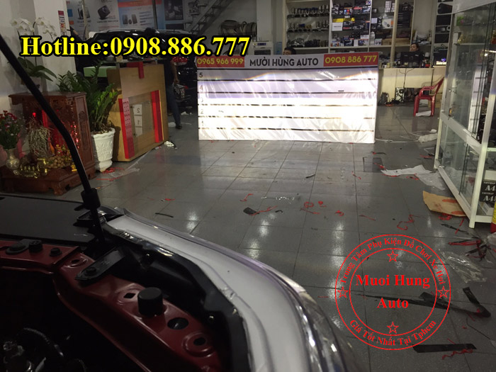 Độ Đèn Bi Cản Toyota Hilux Chuyên Nghiệp 01