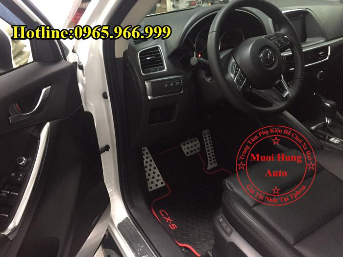Thảm Lót Sàn Cao Su 3D Mazda CX5