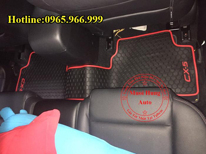 Thảm Lót Sàn Cao Su 3D Mazda CX5 02
