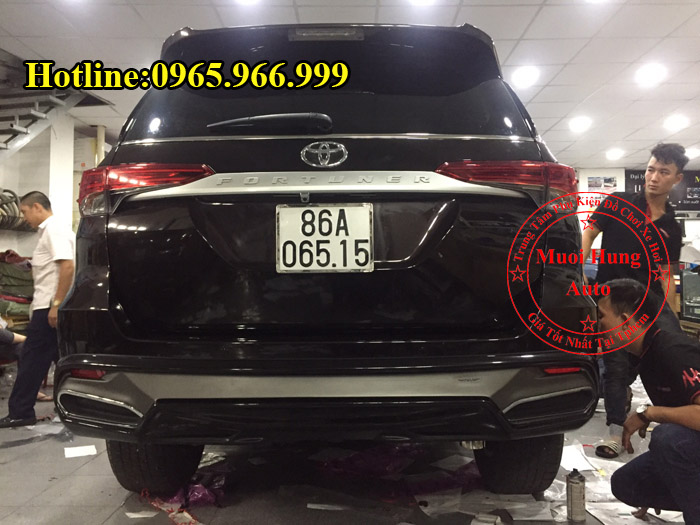 Body Kit Cao Cấp Xe Fortuner 2016, 2017 02