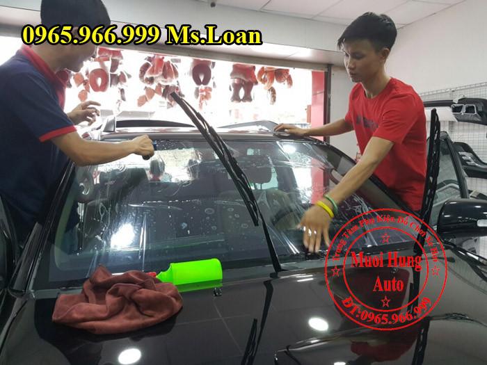 Dán Phim Cách Nhiệt 3M Xe Chevrolet Spark 03