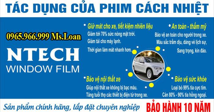 Dán Phim Cách Nhiệt Cho Ford Transit Uy Tín