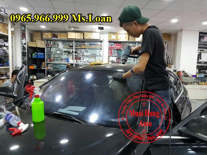 Dán Phim Cách Nhiệt NTech Xe Mercedes C200, C300 04