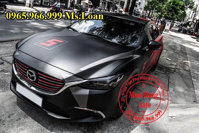 Dán Tem Hông Xe Mazda 6 Tại Tphcm 01