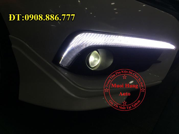 Độ Đèn Bi Gầm Cho Xe Civic 2016, 2017