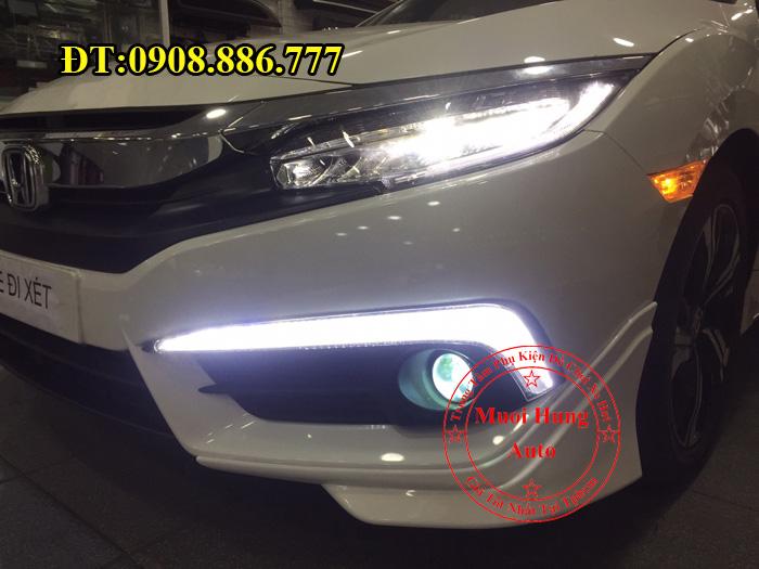 Độ Đèn Bi Gầm Cho Xe Civic 2016, 2017 02