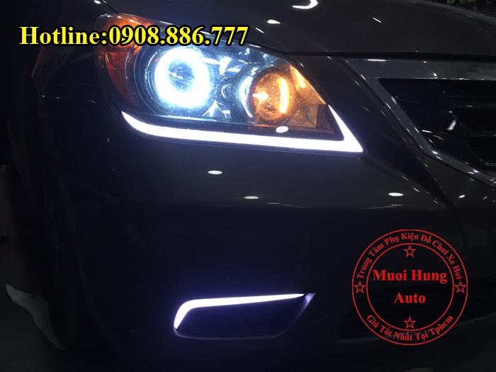 Độ Đèn Bi Xenon Honda Odyssey Tại Tphcm 02