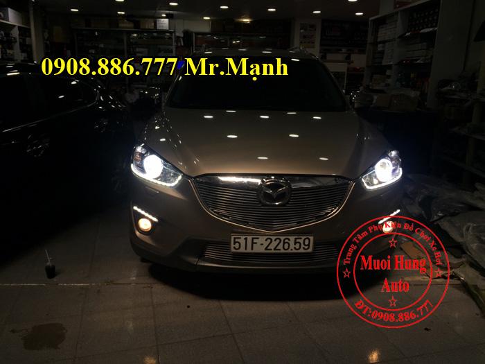 Độ Đèn Led Cho Mazda CX5 Tại Tphcm 02