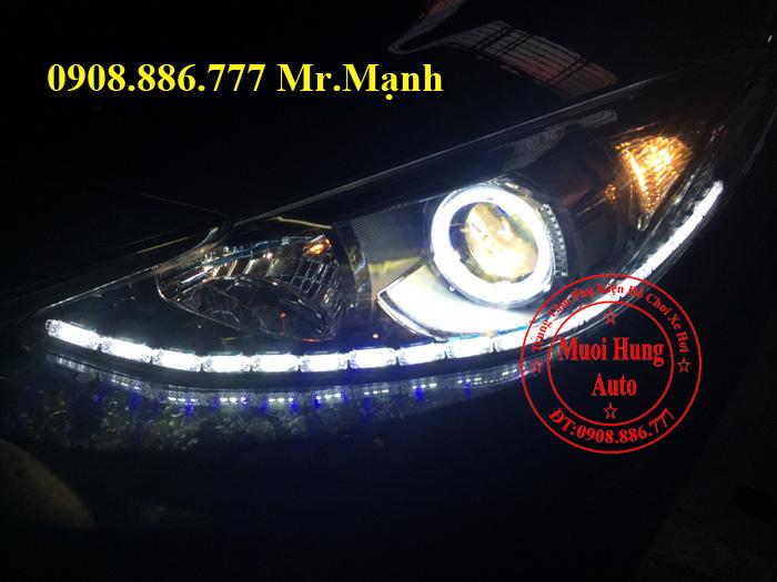 Độ Đèn Led Cho Xe Mazda 3 Uy Tín