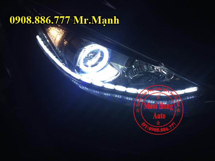Độ Đèn Led Cho Xe Mazda 3 Uy Tín 01