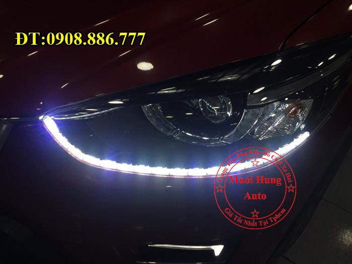 Độ Đèn Led Cho Xe Mazda CX5 2016, 2017