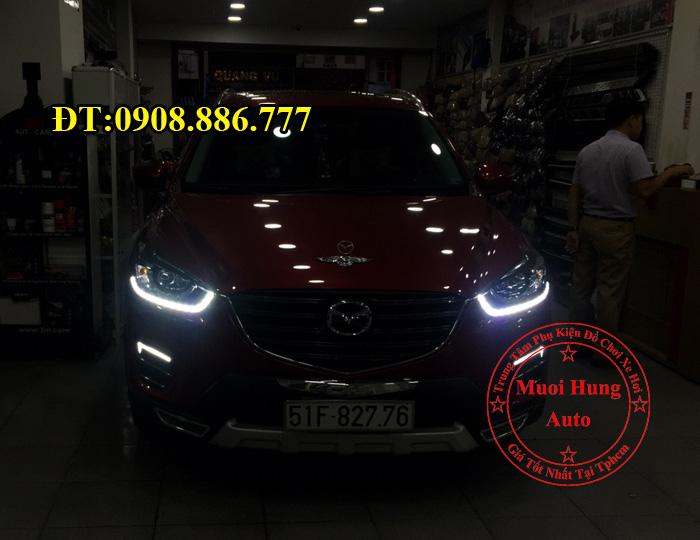 Độ Đèn Led Cho Xe Mazda CX5 2016, 2017 01