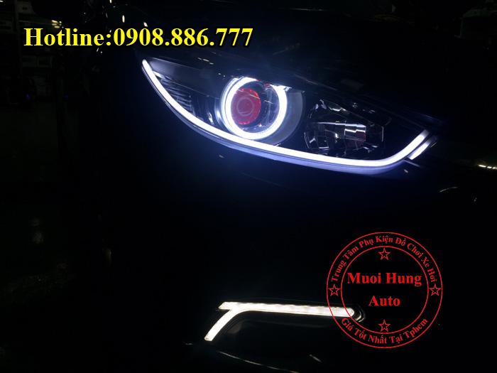 Độ Đèn Mắt Quỷ Cho Xe Mazda 3 2016, 2017 01