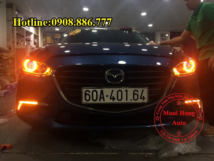 Độ Đèn Mắt Quỷ Cho Xe Mazda 3 2016, 2017 03
