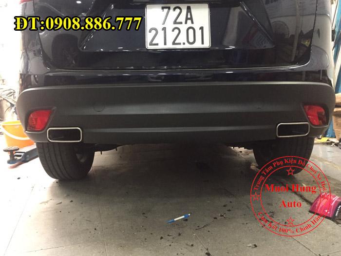 Độ Pô Cho Mazda CX5 2016, 2017 Uy Tín