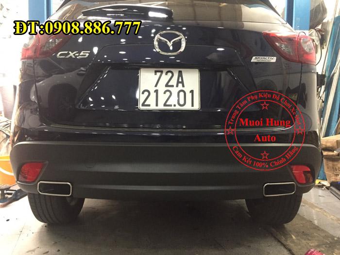 Độ Pô Cho Mazda CX5 2016, 2017 Uy Tín 01