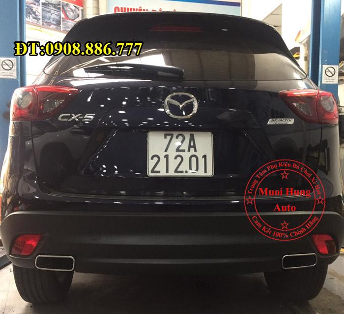 Độ Pô Cho Mazda CX5 2016, 2017 Uy Tín 02