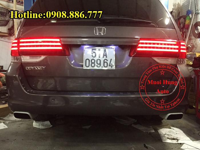 Độ Pô Honda Odyssey Kiểu Porsche Chuyên Nghiệp 03