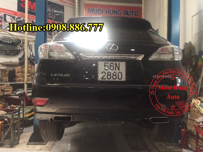 Độ Pô Lexus RX350 Uy Tín Chuyên Nghiệp