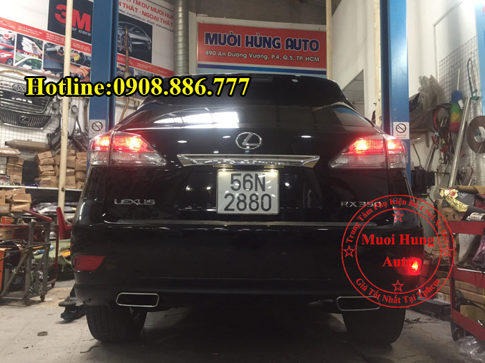Độ Pô Lexus RX350 Uy Tín Chuyên Nghiệp 02