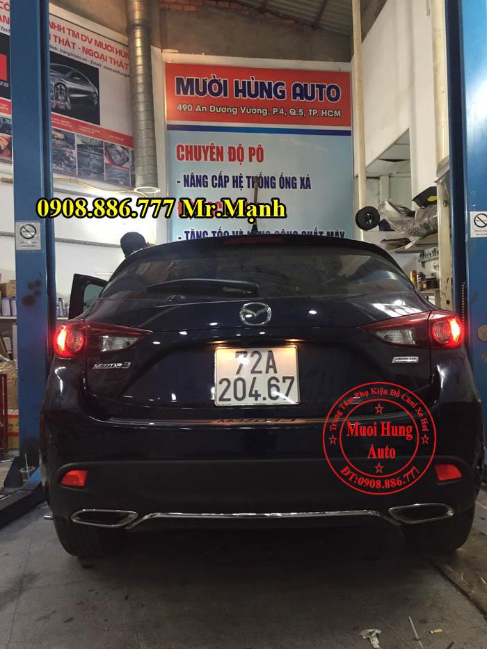 Độ Pô Xe Mazda 3 Uy Tín Tại Tphcm 01
