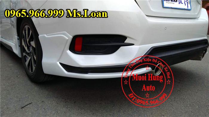 Lắp Body Kit Honda Civic 2016 Giá Rẻ 06