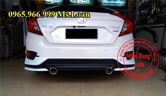Lắp Body Kit Honda Civic 2016 Giá Rẻ 08