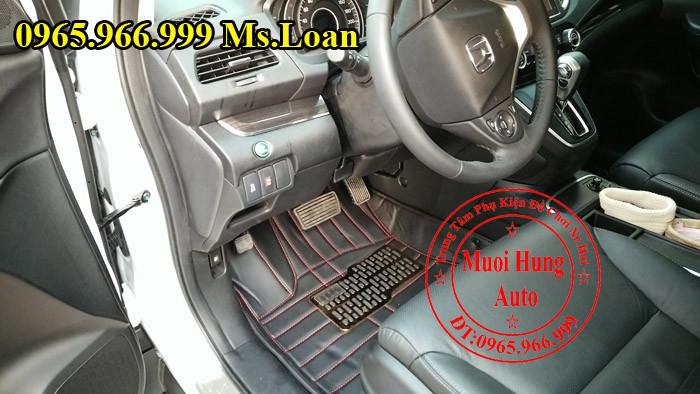 Thảm Lót Sàn Ô Tô 4D Xe Honda CRV