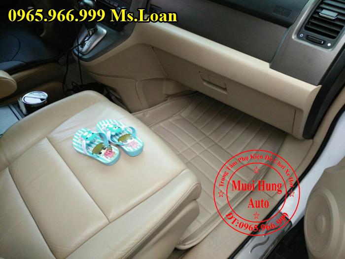 Thảm Lót Sàn Ô Tô 4D Xe Honda CRV 03
