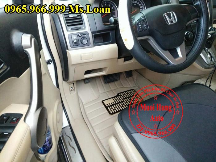 Thảm Lót Sàn Ô Tô 4D Xe Honda CRV 04