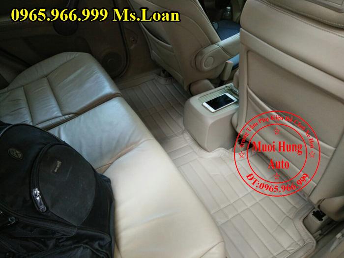 Thảm Lót Sàn Ô Tô 4D Xe Honda CRV 05