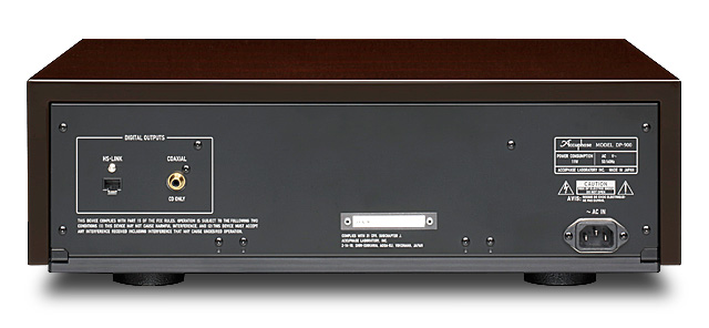 mặt sau Accuphase DP-900